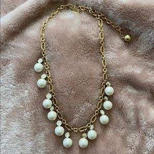 Kate Spade Pearl Statement Necklace